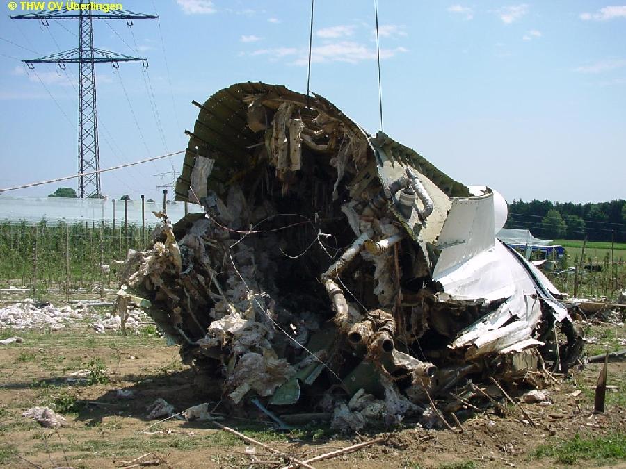 überlingen Flugzeugabsturz